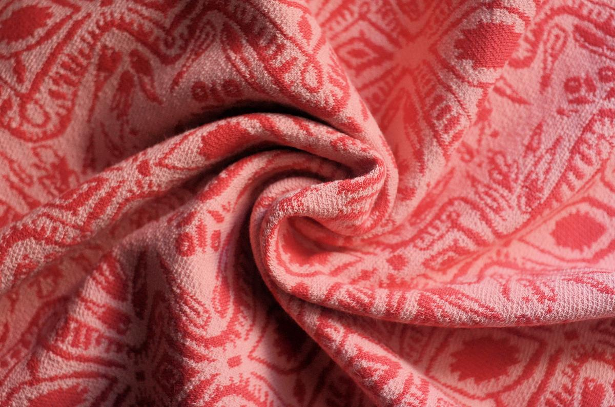 Jacquard Curve by Cherry Picking - Swafing - altrosa/koralle